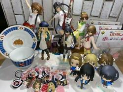 K-on Figures 23 Pieces Sold In Bulk Very Good