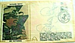 Extra Nice New Richard Petty Collection Includes Canceled Stamp