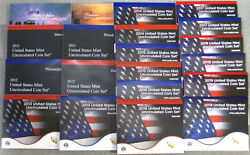 2010 Thru 2020 Run Of 11 Government Issued Mint Sets