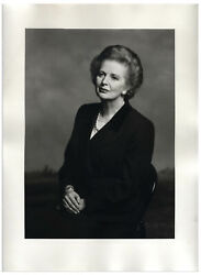 12and039and039 X 16and039and039 Terence Donovan 1995 Margaret Thatcher Photo