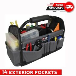 Electrician Tool Carrier Bag Technician Plumbers Organizing Maintenance Tote
