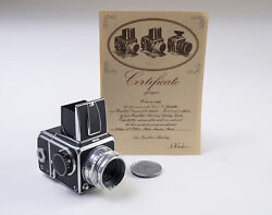 Hasselblad 1000f Model Year 1952 / Zeiss - Opton Tessar 128 80mm Lens