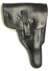 Walther P38 P-38 P.38 Holster German Military Black Leather 4/1978 Date
