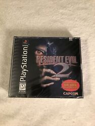 Brand New Sealed Resident Evil 2 Dual Shock Black Labelps1 Playstation Read