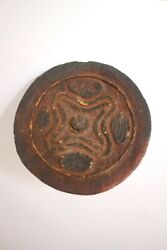 Fine Old Coconut Spinning Top - Papua New Guinea 1950's
