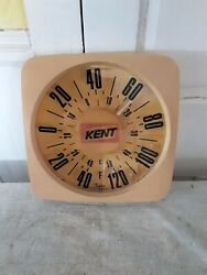 Vintage Kent Feeds 12 Thermometer Sign Farm Ranch Agriculture Iowa. Works