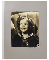 Shirley Temple Owned Hurrell Signed Photo From Heidi