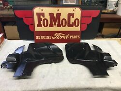 1955 1956 Ford Y-block Engine Slash Pans R And L Very Nice
