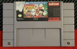 Disney's Goof Troop For Super Nintendo Snes Authentic Tested Working