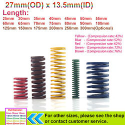 27mmx13.5 Compression Spring Light/heavy Load Stamping Mould Die Spring Stamping