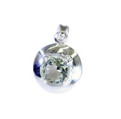 Adorable Green Amethyst 925 Sterling Silver Green Pendant Natural Supplies Us