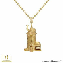 Moomin House Toy Necklace Little My Moominpapa Mama Silver Yg Coating Women 's