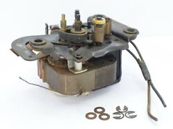 Silvertone Syntronic Record Player Motor, Grommets And C-clips, Untested