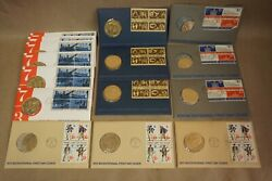 15 1973-76 Bicentennial Commemorative Medals-1st Day Cover-american Revolution