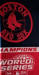 Biederlack Boston Red Sox Throw 'wall Hanging' Blanket World Series Made In Usa