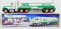 Hess Toy Tanker Truck 1990 With Dual Sound Switch New