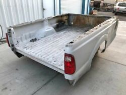 11-16 Ford F250 F350 Super Duty Used White Burned Rough 8and039 Long Bed Box