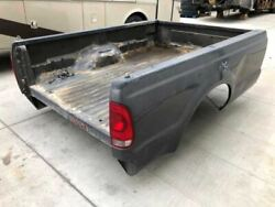 99-07 Ford F250 Super Duty Used 8and039 Long Bed Box Cx Paint No Gate W Right Dent
