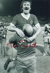 Tommy Smith Signed 12x8 Photo Liverpool Legend Coa