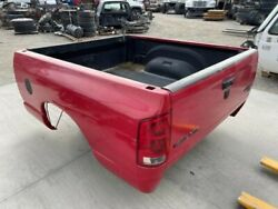 03-09 Dodge Ram 2500 Used Flame Red Pr4 Paint 6and0393 Short Bed Box W Tailgate