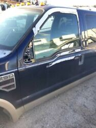 08-12 Ford F250 Super Duty Lh Left Front Keyless Door 2 Tone Blue And Gold Lariat