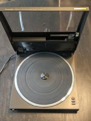 Technics Sl-j92 Direct Drive Automatic Liner Tracking Turntable Works / Clean