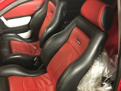 Ford Fiesta Rs Turbo Seats Front Rear And Door Cards-full Leather Interior-recaro