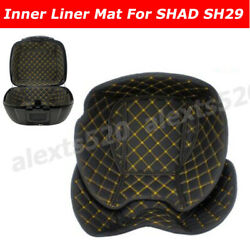 Motorcycle Tail Box Top And Bottom Inner Liner Cover Mat Pad For Shad Sh29 Scooter