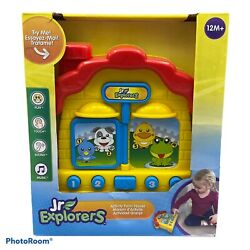 Jr. Explorers Activity Farm House Toy 12m+  Touch Sound Music New In Box