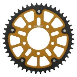 New Supersprox Stealth Sprocket, 46t For Marvic 530 Pitch 5 Bolts 00, Gold