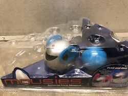 Robotic Mousies Fred Blue Interactive Mouse by Tiger Hasbro 2001 NEW In Package $54.95