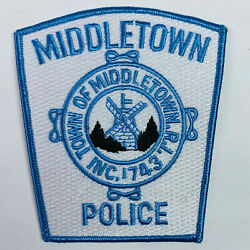 Middletown Police Rhode Island Ri Patch A5