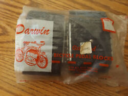New Old Stock Retro Vintage Darwin Grip Ped Bicycle Bike Pedal Blocks Chicago Il