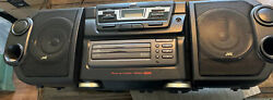 Vintage Jvc Pc-xc12 Boombox 3-cd-dual Cassettes Radio-1998-tested