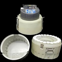 Isco 6712 Automatic Full Sized Portable Waste Water Sampler W/bottles 1