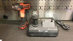 Snap On 14.4 Cts761 Impact Wrench Cordless Screwdriver Dual Charger 2 Batteries