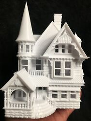 Gold Rush Bay Ho-scale Victorian Miniature 16 Sir George Mansion +interiors