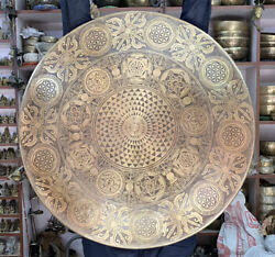 70 Cm Special Hand-carved Large Gong Bell - Tibetan Prayers Gong - Meditation