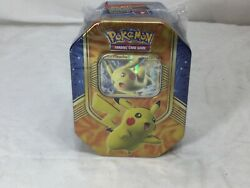 2016 Pokemon Tcg Pikach Ex Best Of Ex Collector Tin Sealed Booster Packs Freeshp