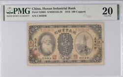 1916 China / Bank 100 Coppers Pmg 20