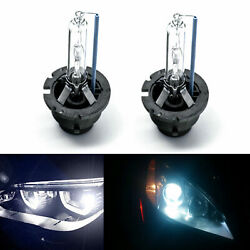 2x 8000k Ice Blue D2s D2r Xenon Hid Headlight Replacement Hi/lo Beam Bulb Lamps