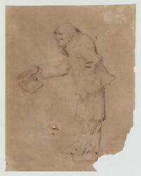 Original Pen And Ink Drawing Early 19th Century British George Cattermole