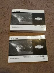2009 Chevrolet Chevy Malibu Owners Manual Oem 09 Guide Book. Free Shipping