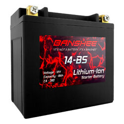 Lithium Motorcycle Battery Replaces Ytx14-bs Lightweight Lithium Ion Battery