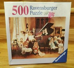 Ravensburger 81636 Doll Collection Jigsaw Puzzle 500 Pieces New Sealed Nib 18x24