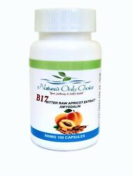 Apricot Seed Extract 99.9 Amygdalin 500 Mg 100 Capsules U.s.a