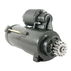 Starter For Mercury Engines - Marine Outboard 225xl Dfi / Optimax Sdr0251
