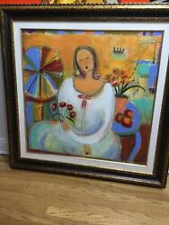 Holland Berkeley Vision Of The Seasandrdquo Giclee Hand Signed Limited Edition Framed