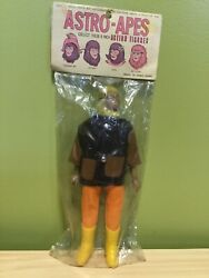 Vintage Dr Zorma Planet Of The Apes Astro-apes Figure Mip With Header Card