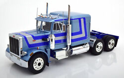 Road Kings 1967 Peterbilt 359 Silver In 1/18 Scale New Release Le Of 500